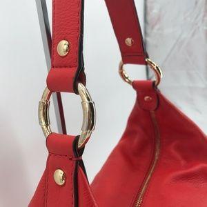 Michael Kors Bags - Michael Kors Large Mandarin Red Orange Hobo